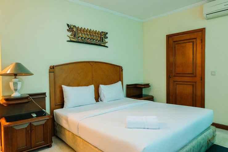 BEDROOM 3BR with Pool View at Permata Gandaria Apartment