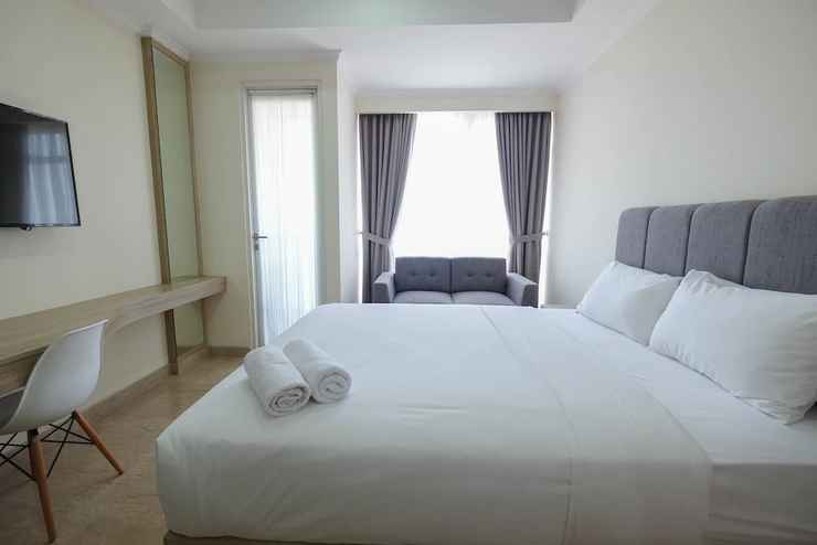 BEDROOM Simply Furnished Studio @ Menteng Park Apartment