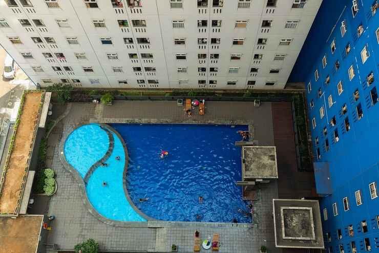 SWIMMING_POOL Nice 2BR Green Pramuka Apartment