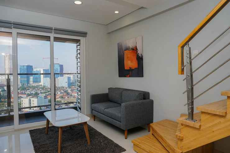 COMMON_SPACE Spacious Loft 2BR Apartment at Maqna Residence