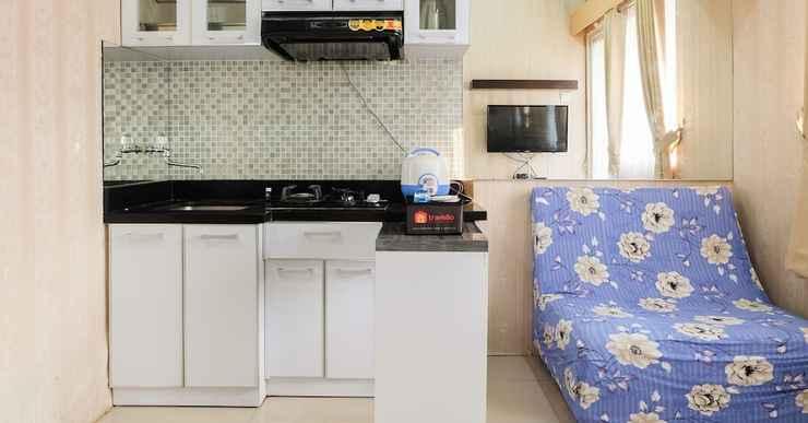 BEDROOM Tranquil 2BR at Green Pramuka City Apartment
