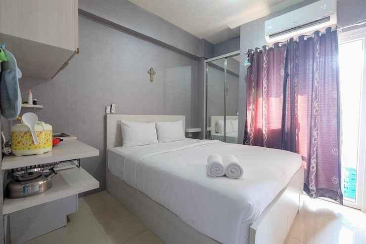 BEDROOM Mini Studio Green Pramuka Apartment
