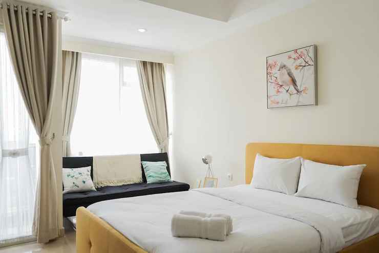 BEDROOM New Furnished and Exclusive Studio at Menteng Park Apartment
