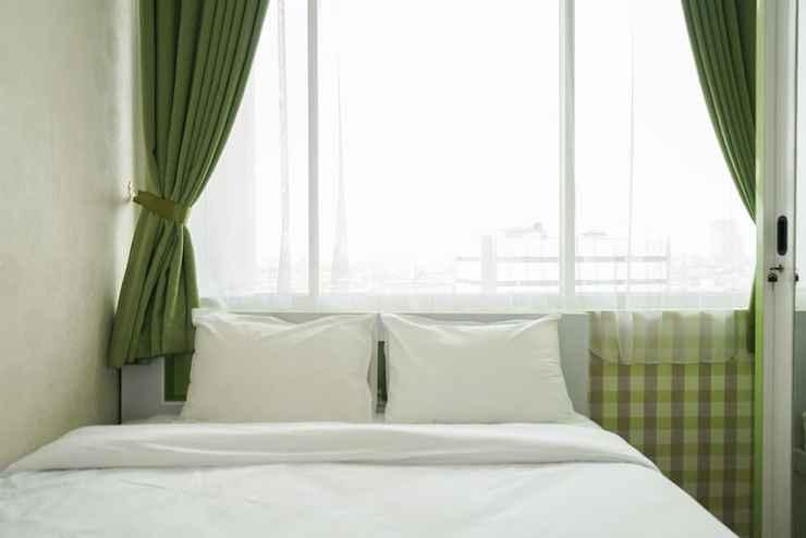 BEDROOM Green Interior 2BR Pasar Baru Mansion Apartment