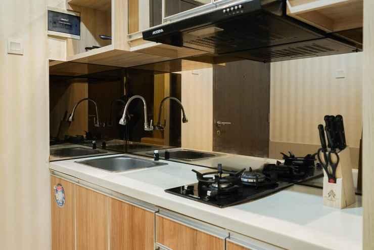 BEDROOM Homey 2BR at Pasar Baru Mansion Apartment