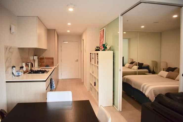 BEDROOM Modern 1 Bedroom Apartment in North Melbourne