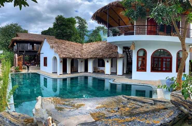 SWIMMING_POOL Mai Chau Rustic Home - Hostel