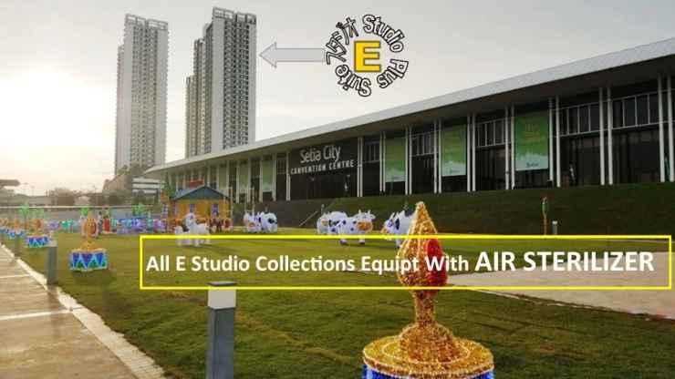 EXTERIOR_BUILDING E Studio-Trefoil SetiaCity SetiaAlam