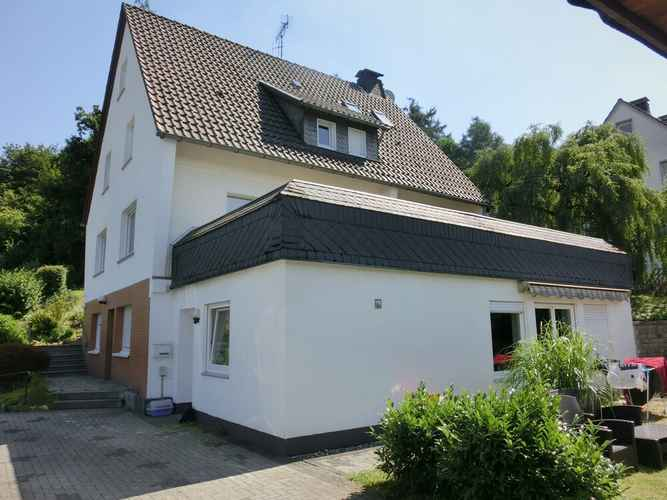 EXTERIOR_BUILDING Holiday Home in Sauerland - Quiet Setting, Private Entrance, Terrace, Garden