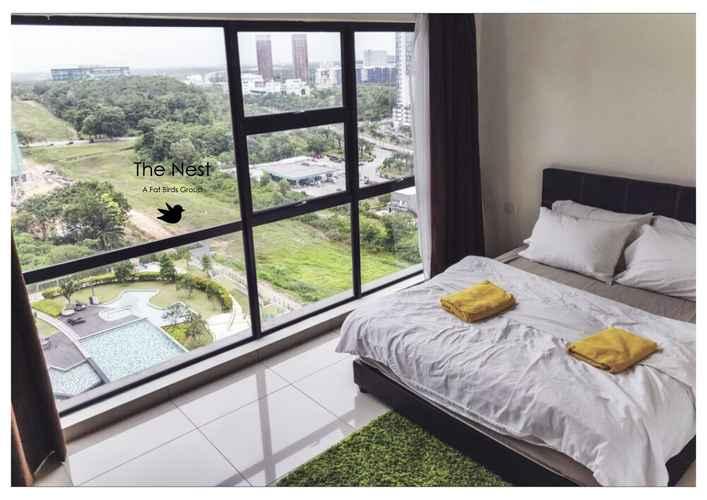 BEDROOM Cozy Hyve Soho Suites