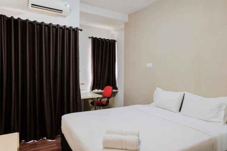BEDROOM Best Price Studio Apartment at Tamansari Skylounge