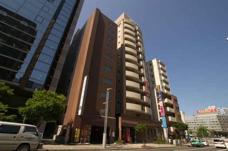 EXTERIOR_BUILDING โรงแรมรูท-อินน์ ซัปโปโร เอกิมาเอะ คิตะกุชิ
