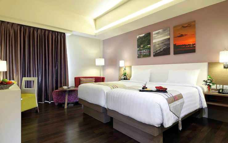 Mercure Padang Padang - Kamar Deluks, 1 Tempat Tidur King, pemandangan samudra