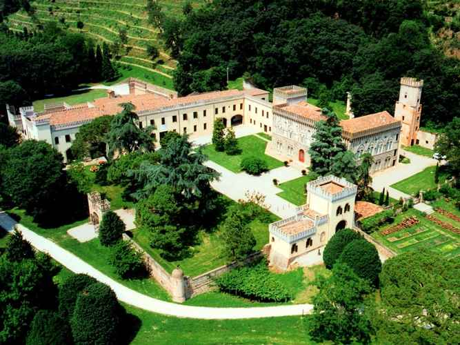 VIEW_ATTRACTIONS Beautiful Castle in Monselice With Indoor Pool