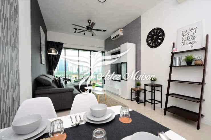 BEDROOM Gorgeous Views @ Setia Sky Klcc - 1BR Artez Maison