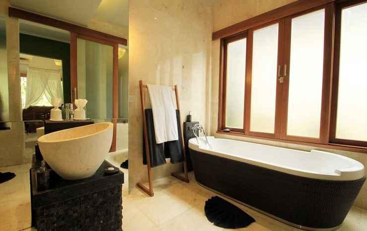 KajaNe Mua Bali - Suite Mewah, 1 Tempat Tidur Double, kamar mandi pribadi, pemandangan kebun