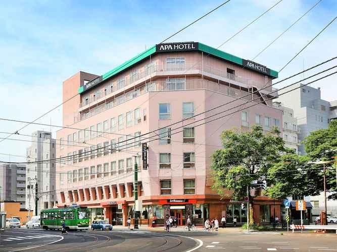 EXTERIOR_BUILDING โรงแรมเอพีเอ ซัปโปโร ซูซูคิโนะ-เอคินิชิ