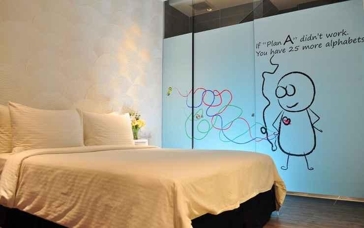 Zoom Inn Boutique Hotel Danga Bay Johor - Kamar Eksklusif, 1 Tempat Tidur King, tanpa jendela