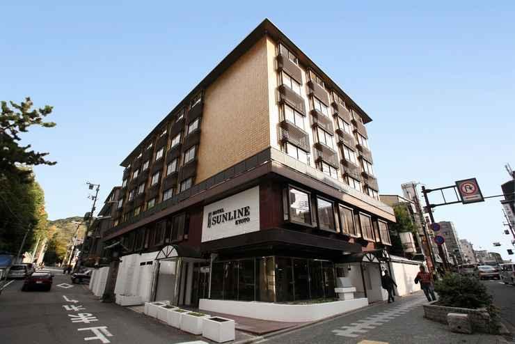 EXTERIOR_BUILDING โรงแรมซันไลน์ เกียวโต กิออน ชิโจ