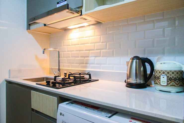 Private Kitchenette New Studio with Sea View at Gold Coast Apartment