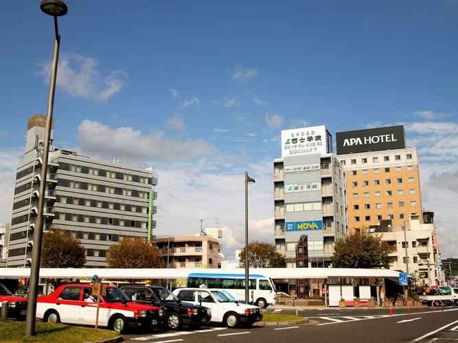 EXTERIOR_BUILDING โรงแรมเอพีเอ คาโกชิมะจูโอ-เอคิมาเอะ