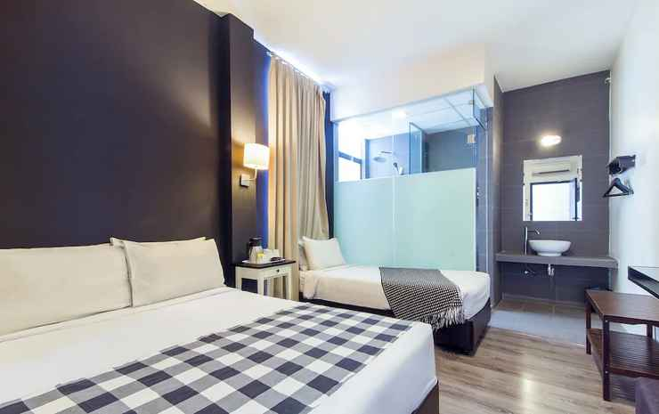 Ceria Hotel Kuala Lumpur - Kamar Triple Deluks