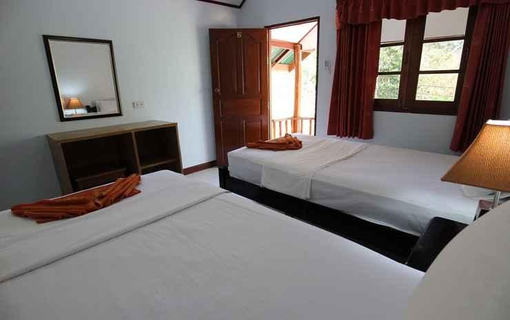 Phi Phi Jungle Hill Bungalow  Krabi - Bungalow Twin beds Air Con