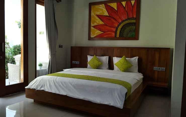 Villa Mataano Lombok - Kamar Double Deluks, 1 Tempat Tidur King, pemandangan kolam renang
