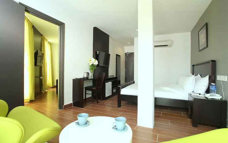 Crossroads Hotel Kuala Lumpur - Suite Keluarga, 2 kamar tidur