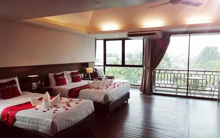 Mandala House Chiang Mai - Family Triple Room with View
