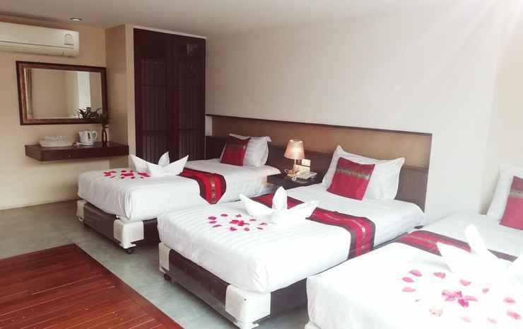 Mandala House Chiang Mai - Kamar Triple Deluks, 3 Tempat Tidur Twin