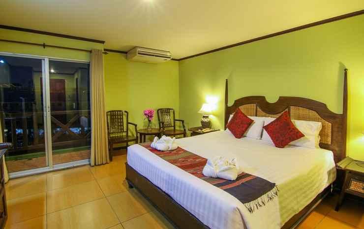 Phuphaya Resort Chonburi - Kamar, 1 Tempat Tidur King, teras, pemandangan kota