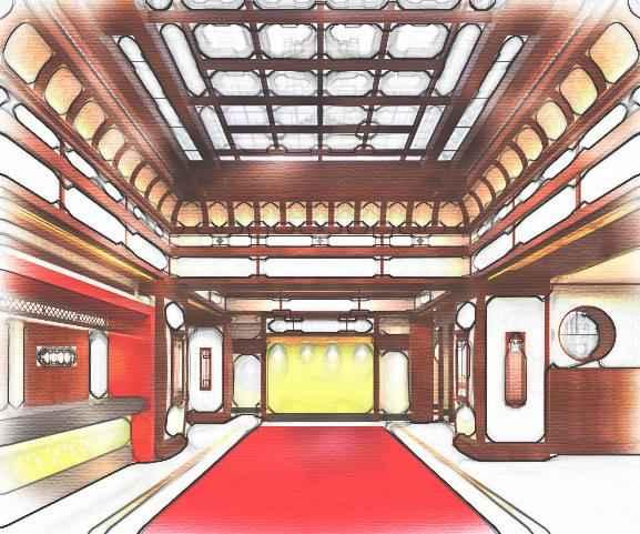 Lobby Kyoto Yamashina Hotel Sanraku