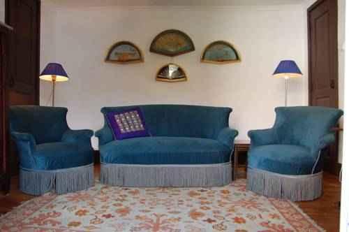 Separate living room Casa Grande de Juncais