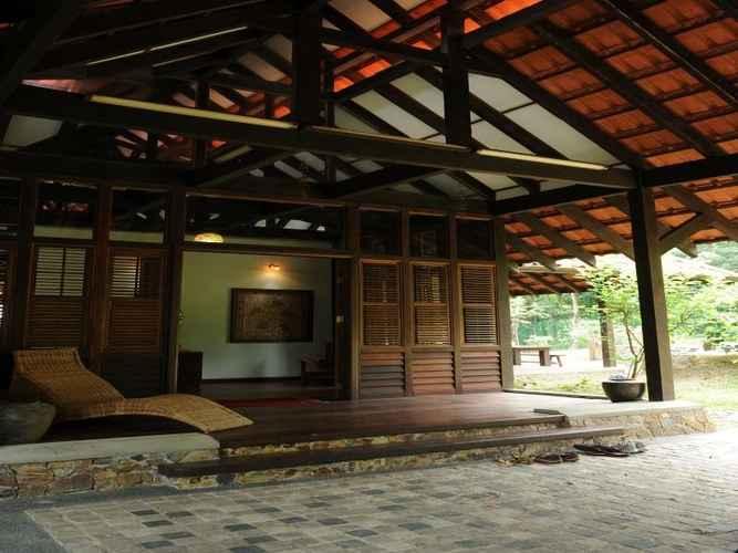 Entrance Kuang Kampung Retreat at Kuala Lumpur Sg. Buloh