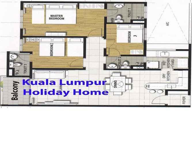 Floor Plans Kuala Lumpur Holiday Home