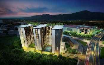 Aerial View ARIVA Prio Serviced Residence