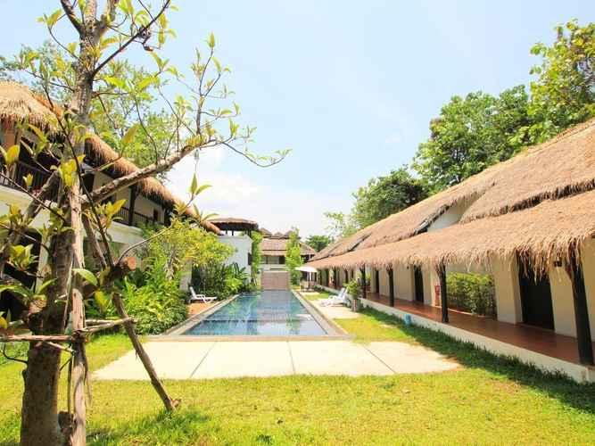 SWIMMING_POOL โรงแรมกาญจ์ปุระ กาญจนบุรี