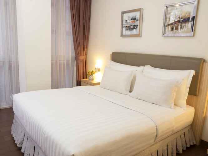 BEDROOM d'primahotel WTC Mangga Dua