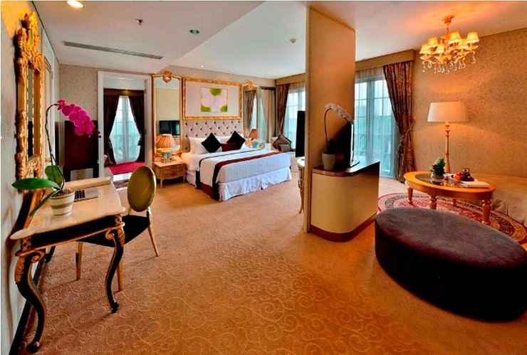 BEDROOM Amaroossa Royal Hotel Bogor