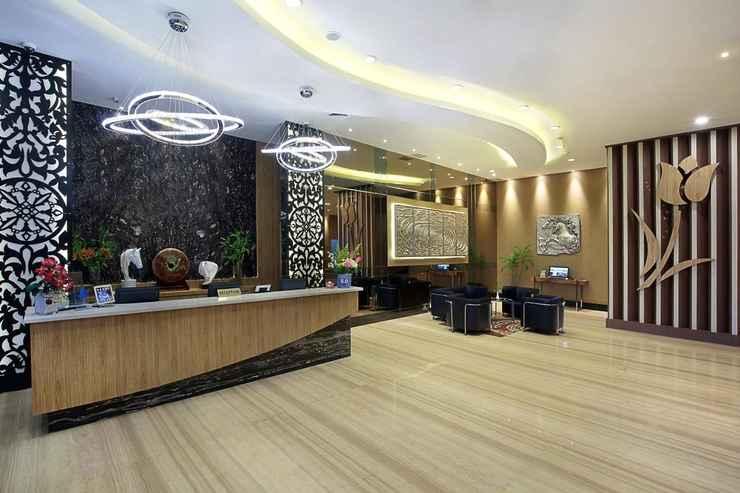 LOBBY Galaxy Hotel Banjarmasin