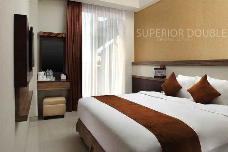 BEDROOM Crystal Lotus Hotel
