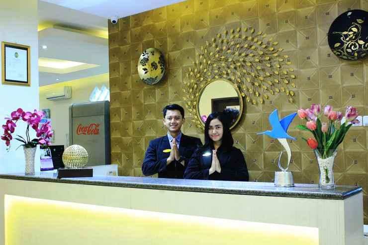 LOBBY Laxston Hotel Yogyakarta