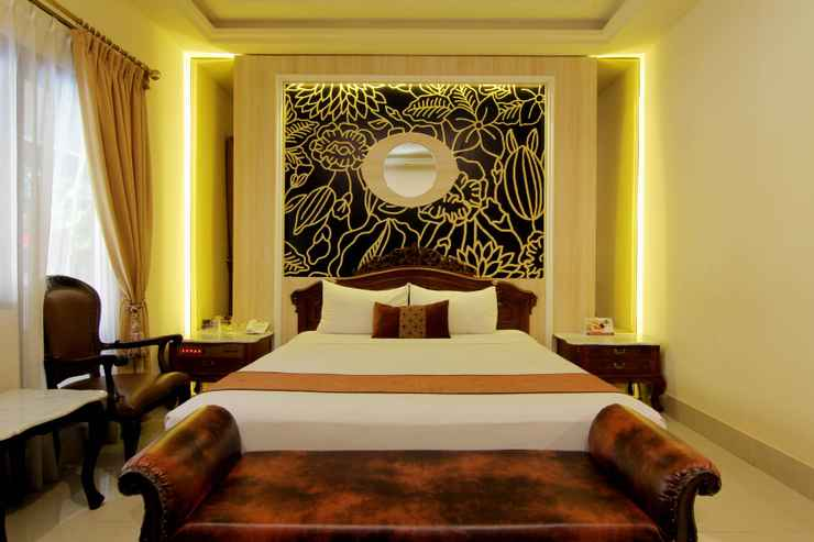 BEDROOM Indah Palace Hotel
