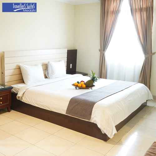 BEDROOM Travellers Suites Serviced Apartments Medan