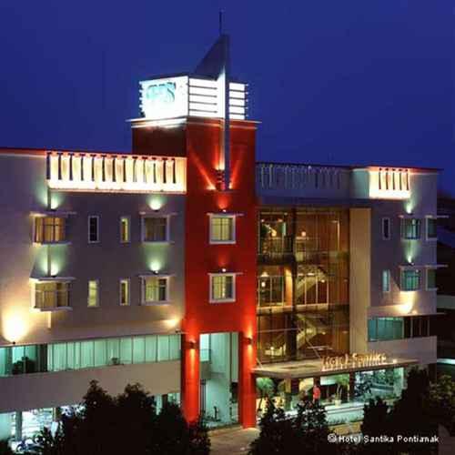 EXTERIOR_BUILDING Hotel Santika Pontianak
