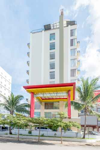 EXTERIOR_BUILDING Lynt Hotel Makassar