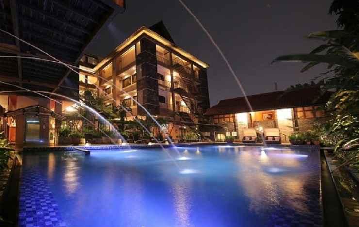 EXTERIOR_BUILDING Bali World Hotel
