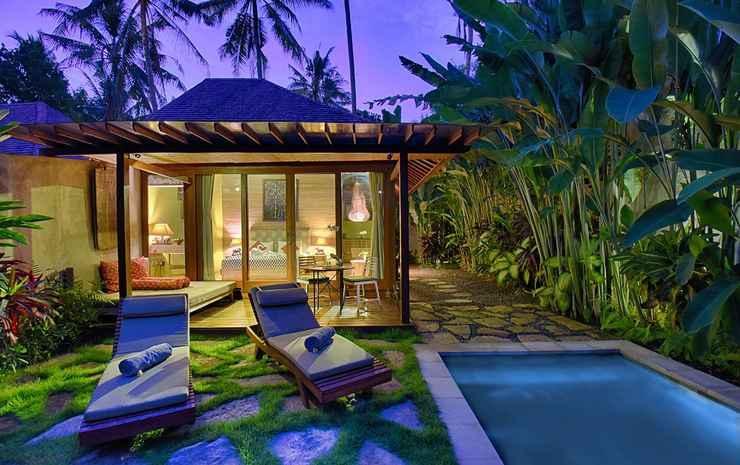 Samkhya Villas Ubud Bali - One Bedroom Villa Private Pool Rice Field View