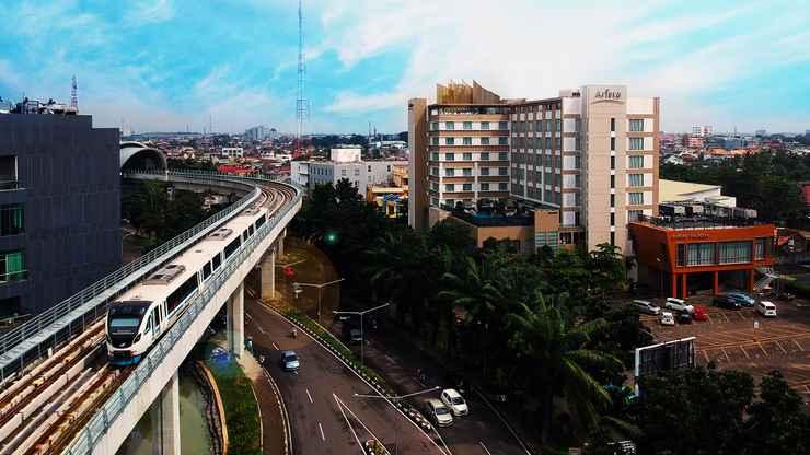EXTERIOR_BUILDING The Arista Hotel Palembang